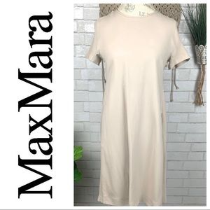 MaxMara Cream tunic style dress